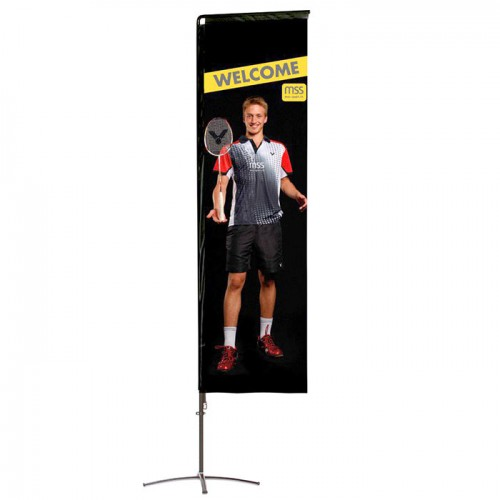 Premium Square Portable Flag
